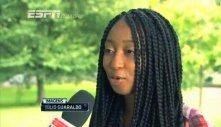 Catherine Labiran on ESPN Brazil