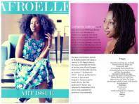 Catherine Labiran Afro Elle