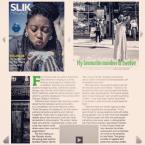 Catherine Labiran SLIK Magazine